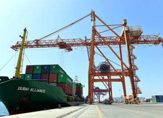 Dubai Alliance is the first vessel to be handled by Fujairah Terminals under the new concession agreement