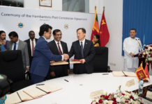 China Merchants signs Hambantota port concession deal
