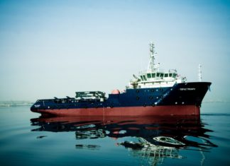 Topaz Triumph has secured a significant contract to support Total in Azerbaijan