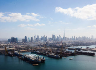 Drydocks World Dubai will be part of the DP World group once the acquisition is finalised in 2018
