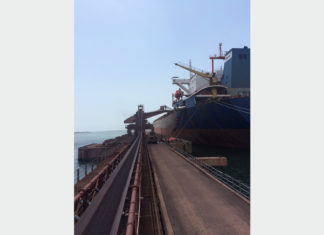 Essar is upgrading iron ore handling facilities in Vizag Port