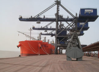 Hazira port traffic was up by more than 20% in the first half of the current financial year