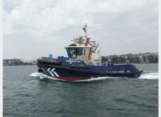 Yeniçay IV, delivered to Abu Dhabi Ports back in September 2016