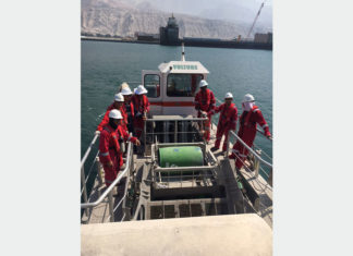 RAK Ports Training Institute has held its first oil spill response course