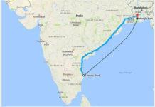 India launches coastal service to Bangladesh