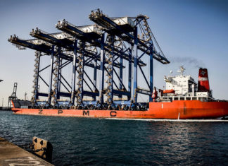 RSGT took delivery of four new gantry cranes in October