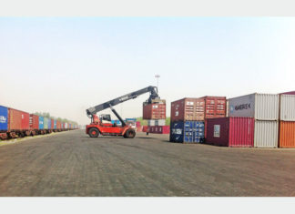 Maersk is making sue of the ICD at Birgunj to serve the growing Nepal market