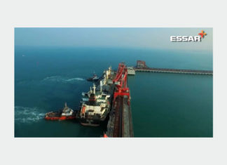 Essar Bulk Terminal Salaya can now handle vessels up to 100,000 dwt capacity