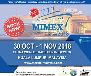 Malaysia International Marine Expo 2018 (MIMEX 2018)