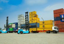Sri Lanka container yard opened by joint venture