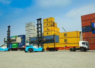 The new Spectra Logistics managed container yard is expected to generate logistics benefits for clients