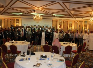 Participants at the Jubail Value Proposition event hosted by GSCCO