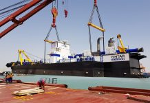Basra terminal takes delivery of new dredger
