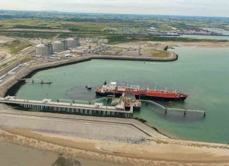 Adani is building a new LNG terminal at Dhamra port
