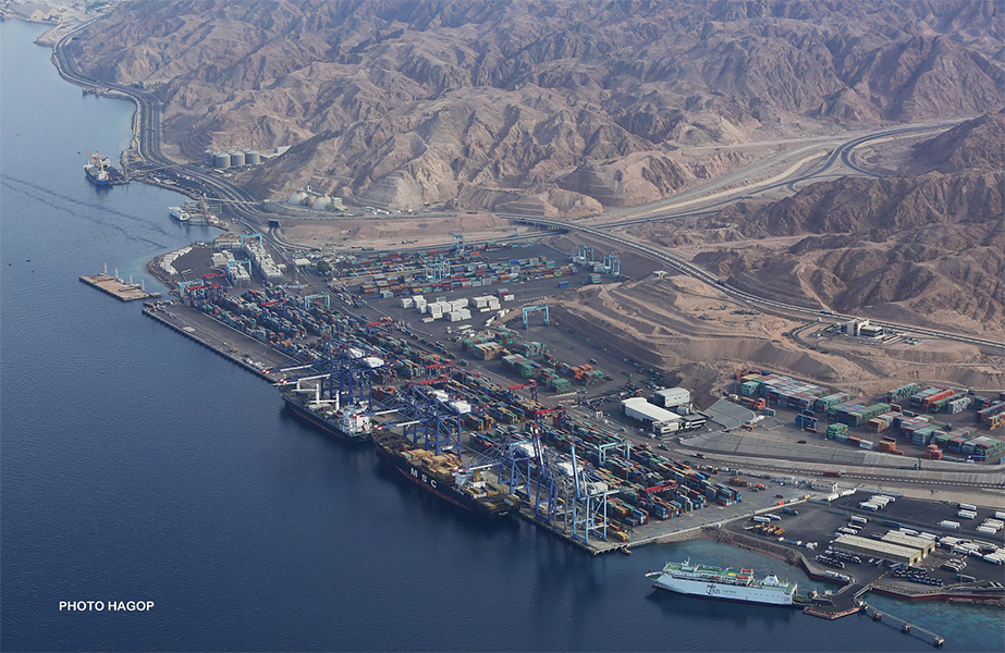 Aqaba Container Terminal is consolidating its position as a gateway for Iraq-bound container cargoes