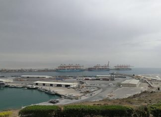Salalah port operations have been badly disrupted by cyclone Mekunu