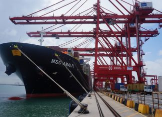 Container traffic has increased by over 20% this year at Colombo port