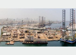 Lamprell is diversifying its business, currently centered largely around the UAE, to include operations in Saudi Arabia