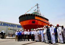 Saqr Port tug launched by Albwardy Damen