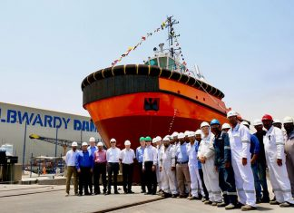 RAK Ports' new tug will support bulk carriers calling at Saqr Port