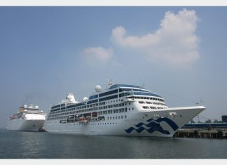 Cruise shipping activity in Cochin is expected to rise over the next few years