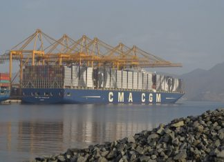 Khor Fakkan will be used to transship containers on the new East African operation