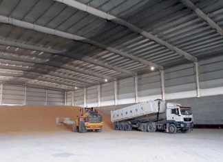 The first phase of the new agricultural products terminal in Salalah port is now operational
