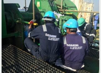 Albwardy Damen shiprepair teams are now operating in Sohar