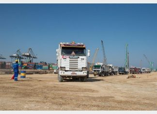 Dredging works are now underway to develop a new terminal basin for Sokhna