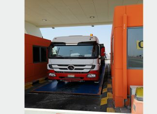 The new weighbridges are expected to reduce delays to truck traffic moving in and out of KBSP