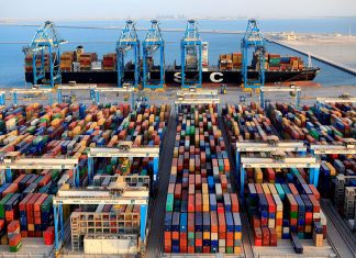 The newly signed partnership agreement between Abu Dhabi Customs and Abu Dhabi Ports is expected to speed the flow of containers through Khalifa Port