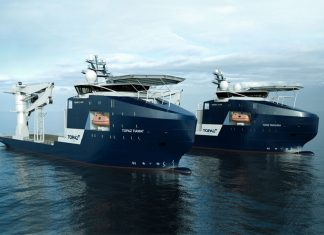 The Topaz Tiamat, and its sister vessel Topaz Tangaroa, reflect Topaz's investment strategy for targeting the growing subsea segment