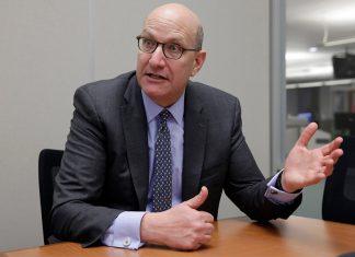 Jay Walder, the new CEO of Virgin Hyperloop One