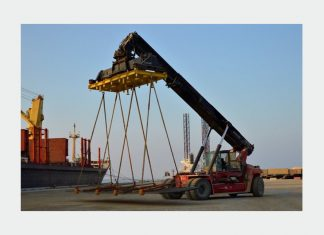 The port of Duqm has started handling cargo for the new Duqm Refinery