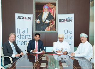 The CPC plant contract was signed by HE Dr Mohammed Nasser Ali Al Zaabi, chairman of Sohar Port and Free zone, and Rajiv Reddy, managing director of Sanvira Industries Limited