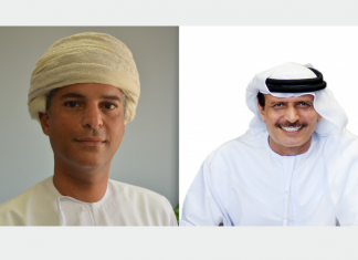 (left) Tarik Al Junaidi, former Chief Executive, Oman Shipping Company; (right) Khamis Juma Buamim, former Managing Director & Group CEO, Gulf Navigation Holding