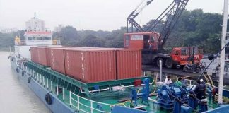 Maersk Line is to make use of the new inland river service between Kolkata and Varanasi