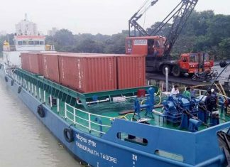 Maersk Line is to make use of the new inland river service between Kolkata and Varanasi