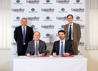 GAC and Lagardère have signed a significant contract logistics deal