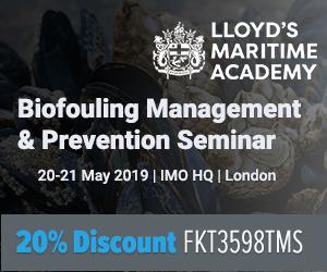 Biofouling & Prevention Seminar by Lloyd's Maritime Academy