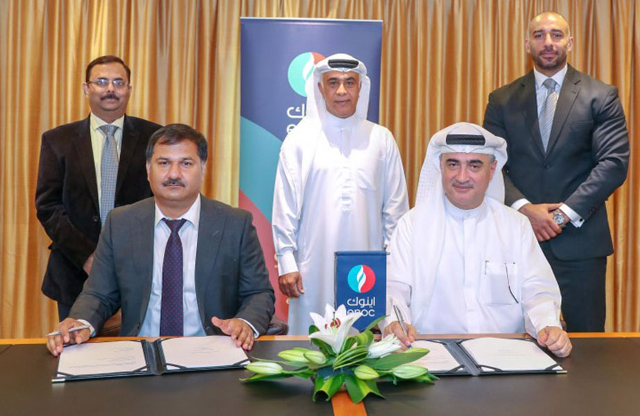 The ENOC-IOC partnership agreement includes research and development efforts to jointly develop cylinder oil compliant with the IMO sulphur cap