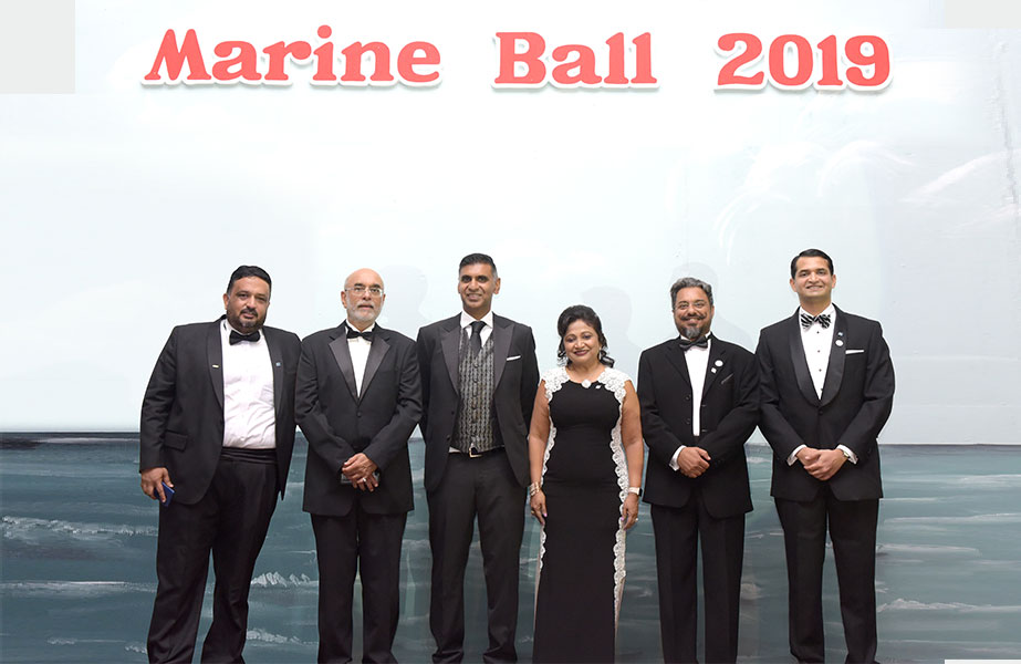 Office bearers of The Nautical Institute UAE