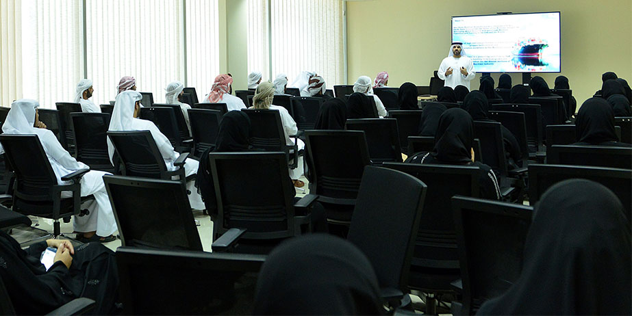 Abu Dhabi Maritime Academy had a good turnout at its Open Day