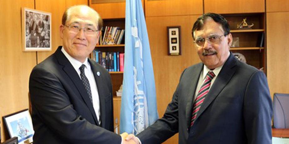 IRClass' Arun Sharma meets with Kitack Lim, IMO Secretary General
