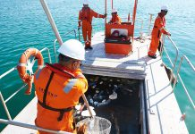 Safeen collects marine waste