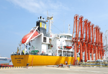 LPG transhipment facility starts operations