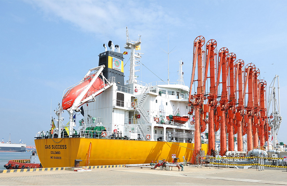 LPG transhipment facility starts operations - Latest