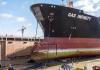 The LPG carrier Gas Infinity in dock in Oman