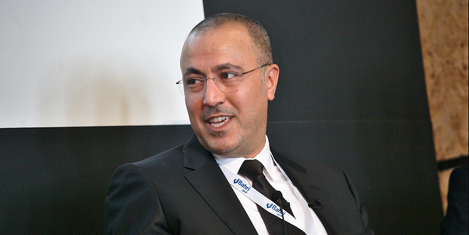 Bahri's Chief Support Officer Hisham Alkhaldi at the 13th Annual Maritime HR Conference in London