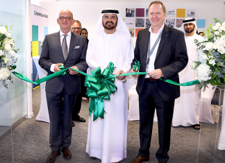 Mohammed Al Muallem, CEO and Managing Director of DP World, UAE Region, overseeing the inauguration of the new office